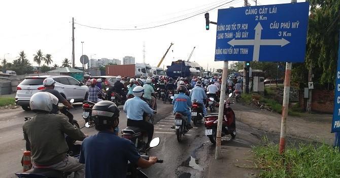 TP.HCM: Hơn 1.400 tỷ mở rộng đường Nguyễn Thị Định