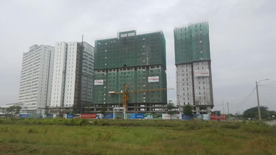 Tiến độ xây dựng tháng 12/2016