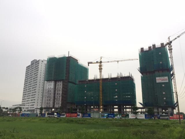 Tiến độ xây dựng tháng 7- 8/2016