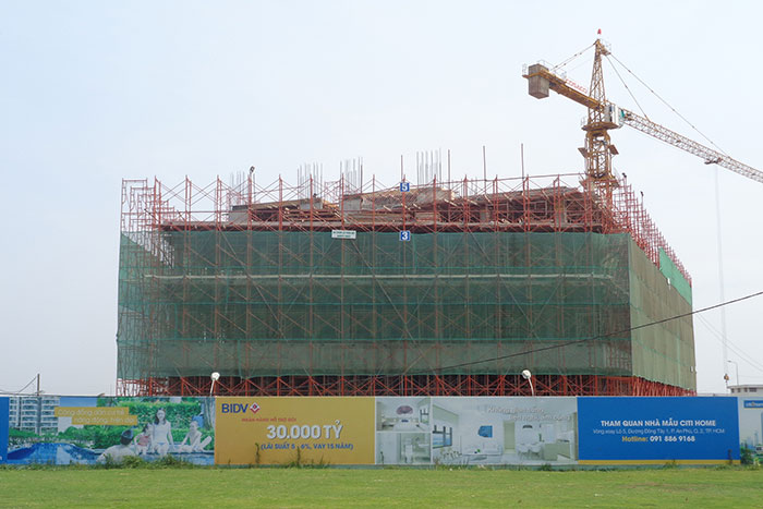 Tiến độ xây dựng tháng 03 - 2015