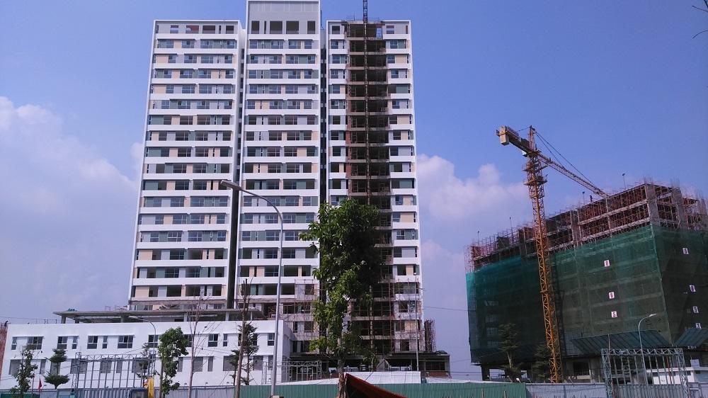 Tiến độ xây dựng Tháng 1 - 2016