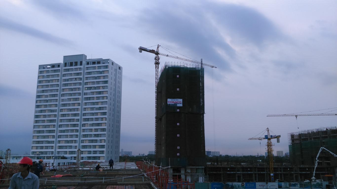 Tiến độ xây dựng tháng 5 - 2016